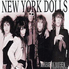 Manhattan Mayhem: A History of the New York Dolls by New York Dolls (CD, Nov-2003, Jungle (Punk U.K.))