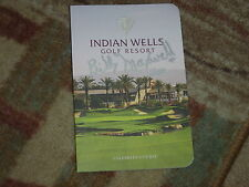 Billy Maxwell 1961 Palm Springs Classic Signed Indian Wells Scorecard