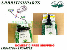 LAND ROVER HEADLAMP WASHER JET RANGE ROVER 2010-2012 SET OEM LR010791 LR010792