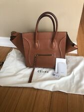Celine Phantom Tan Luggage Handbag