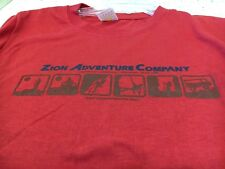 Men's Zion Adventure Company Sport Science T Shirt Size S - New - Tags on