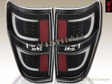 2009-2014 Ford F-150 F150 Black Housing G2 LED Rear Break Tail Lights Pair