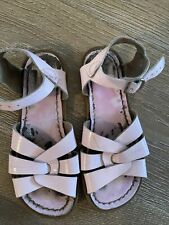 Salt Water Sandals Patent Pink Size 12 Guc