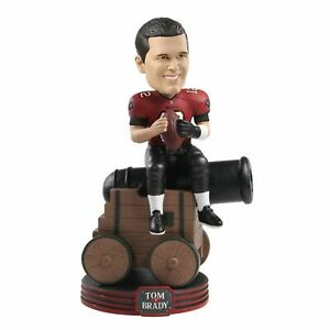Tom Brady Tampa Bay Buccaneers Riding Cannon Special Edition Bobblehead NFL
