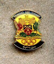 NOC Trinidad & Tobago 2000 Sydney OLYMPIC Games Pin