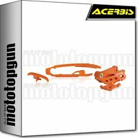 ACERBIS 0021833 KIT CHAIN SLIDERS ORANGE HUSQVARNA FE 450 2019 19 2020 20