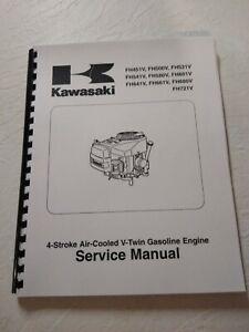 Service Manual for Kawasaki FH601V FH641V FH661V FH680V FH721V Printed & Bound