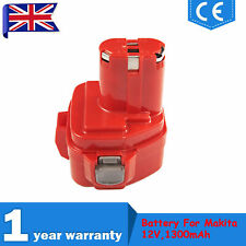 12V 1.3Ah Drill Battery For Makita 1220,1222,PA12 4013D 5093D 6213D 6216D 6217D