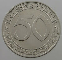 GERMANY 50 PFENNIG 1939 A    #T7 647