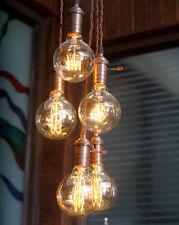 Industrial Vintage Edison pendant light fixture - Hanging Ceiling Edison Bulbs