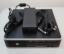 HP Compaq Elite 8300 Ultra-Slim Desktop i5-3470S 2.90GHz 4GB w/Adapter, NO HDD