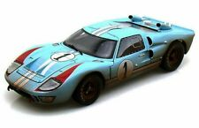 1966 FORD GT-40 MK II #1 W/DIRT 1/18 SCALE DIECAST CAR SHELBY COLLECTIBLES SC405