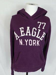 American Eagle N. York 77 Pullover Hoodie Medium