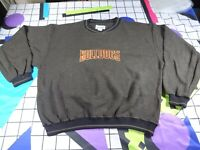 vtg 90s hamilton bulldogs gear sports spell out  sweatshirt sweater jumper