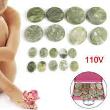 16pcs Therapy Hot Rocks Massage Professional Portable Massage Stone Heater Kits