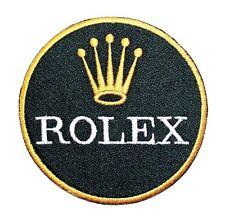 Rolex Swiss Watch F1 Motor Sports Racing Golf Jacket T-Shirt Applique Iron Patch
