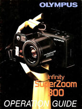 Olympus Infinity 300 Super Zoom 35mm Camera Owners Instruction Manual