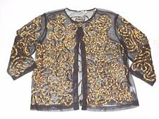 WOMENS sheer detailed JACKET BLAZER = CHOICES = SIZE XL xlarge = WH57