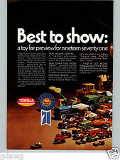 1971 PAPER AD 2 PG Tonka Toy Trucks Road Street Roller Fire Ladder Jeep