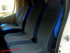 VAUXHALL VIVARO - BLUE MOTORSPORT VAN SEAT COVERS - SINGLE + DOUBLE