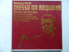 coffret VERDI Messa da Requiem KARAJAN 2707055