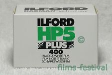 5 rolls ILFORD HP5 Plus 400 B&W Film 35mm 36exp 135-36