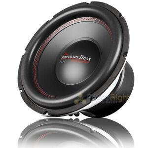 "American Bass 12"" Subwoofer 1600 Watts Max Dual 4 Ohm Titan-1244"