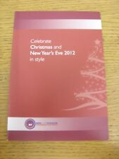 2012/2013 Rotherham United: celebrate Christmas & New Years Eve 2012 in (environ 5110.48 cm) Style -