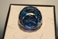 Swarovski Crystal Round Ball 40mm Paperweight 9406 NR 40 Bermuda Long Tail Bird