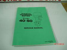 NISSAN SERVICE MANUAL TLDI 40-50   #003N21050-1   4-2-3