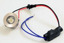 SPOT ENCASTRABLE MINIATURE à encastrer à LED 230V 12V 1W chaud/naturel/froid