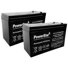 2 x 12V 9AH SLA Battery ft Razor e200 e200s e225 e300 e300s e325 Scooter Battery