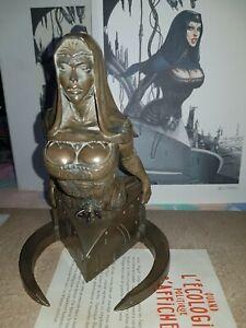 Princesse KAVATAH couleur bronze EDITIONS DU CAFE SIGNEE BELTRAN  N°19/50