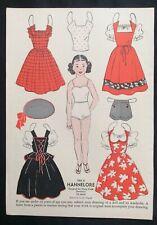1953, Hannelore Mag. Paper Dolls, Wee Wisdom Mag.,Dorothy Wagstaff Artist