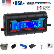 200A Power Analyzer Watt Meter Battery Monitor for Rc, Battery, Solar Wind Power
