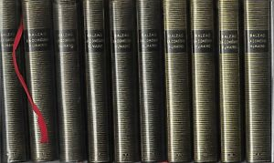 BALZAC. LA COMEDIE HUMAINE Gallimard collection La pléiade 1950 10 volumes