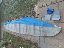 komplette Haut für Faltboot Pouch RZ 85 - 3  mit Flicken für Haut + Stoff