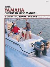 1996-1998  Yamaha, 2-250 HP 2-Stroke Outboard Clymer Repair Service Manual B785