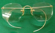 Antique Shuron Gold Filled Eyeglasses / Optical
