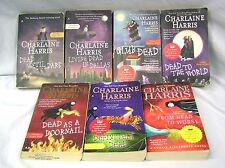 7 Sookie Stackhouse True Blood Series 1-6 abd 8 Charlaine Harris (Paperbacks)