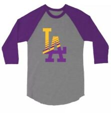 2018 LOS ANGELES Dodgers Lakers Theme Night T-shirt Large  SGA New