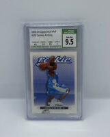 2003-04 Upper Deck MVP Carmelo Anthony CSG PSA BGS 9.5 Gem Mint RC #203 Blazers