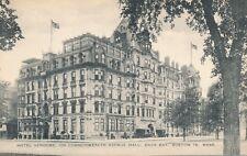 BOSTON MA – Hotel Vendome on Commonwealth Avenue Mall Back Bay