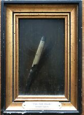 """THE OLD BLADE"" LISTED ARTIST GERALD C GATSKI, MASTER OF TROMPE L'OEIL"