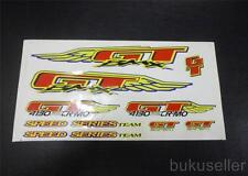 GT wing Expert 4130 Butted CRMO Speed Series team decal sticker BMX old school