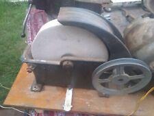 "Vintage 10"" Wet Grinding Stone  Grinder Sharpening Wheel Tool Knife sword"