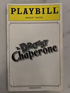 The Drowsy Chaperone Playbill