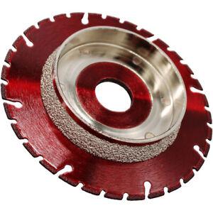 LXDIAMOND Diamant-Trennscheibe Anfasscheibe 115 - 125 mm HT KG Rohre Kunststoffe