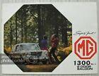 MG 1300 Mk II 2 DOOR SALOON Car Sales Brochure 1971-72 #2747/B