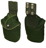 Swedish Army Water Bottle Cover belt canteen holder waterproof fur lined pouch